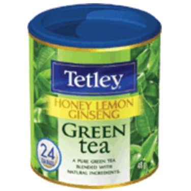 Tetley Honey Lemon Ginseng Green Tea reviews in Tea