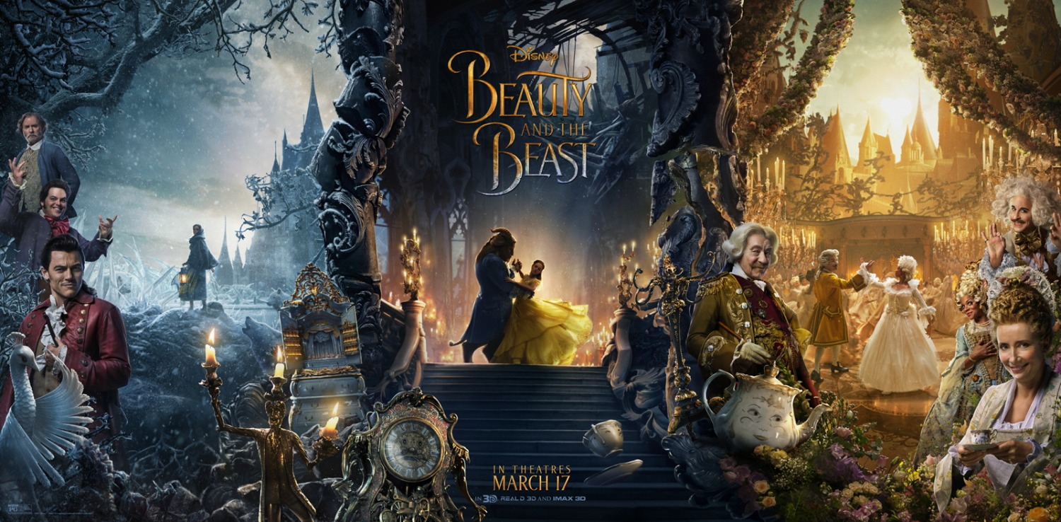 Risultati immagini per beauty and the beast movie characters posters