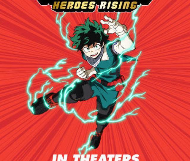 My Hero Academia Heroes Rising Fandango