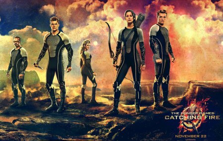 The Hunger Games: Catching Fire banner