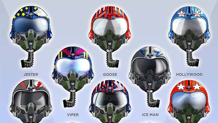 Helmet Hollywood Top Gun