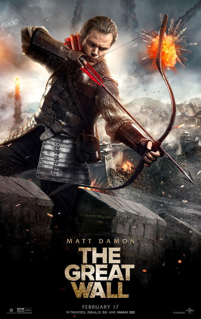 Image result for The Great Wall 2017 Poster