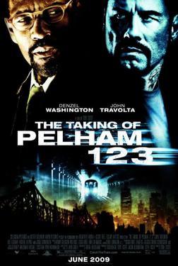 """Poster Art for """"The Taking of Pelham 123."""""""