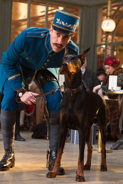 "Sacha Baron Cohen as Station inspector in ""Hugo.''"