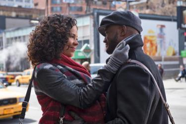 "Sanaa Lathan and Taye Diggs in ""The Best Man Holiday."""