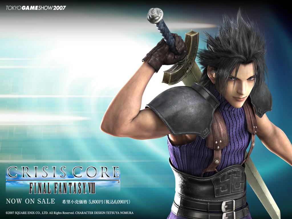 Crisis Core Wallpapers - Final Fantasy 1024x768 800x600