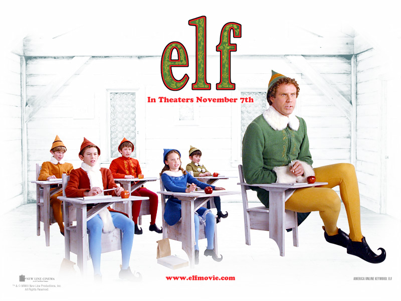Image result for the elf wallpaper movie