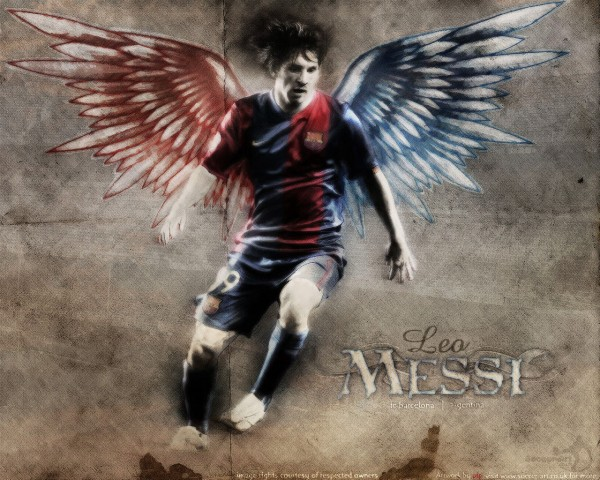 messi in heaven?