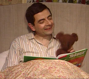 Mr. Bean (& Teddy, too!)