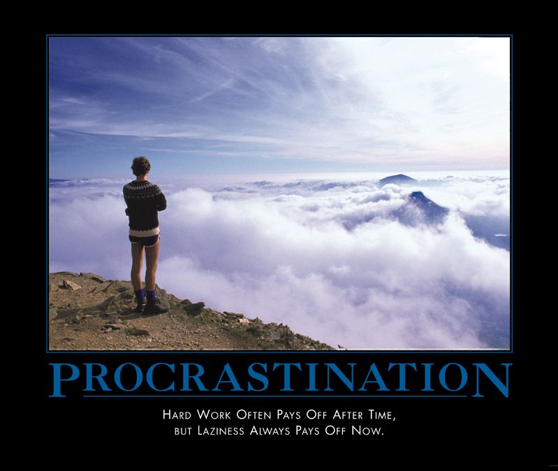 Procrastination - procrastination Photo