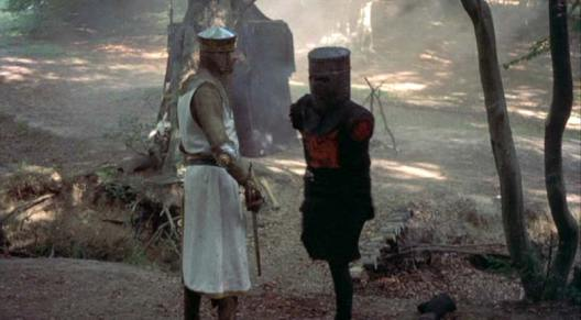 Image result for monty python and the holy grail poster the black knight