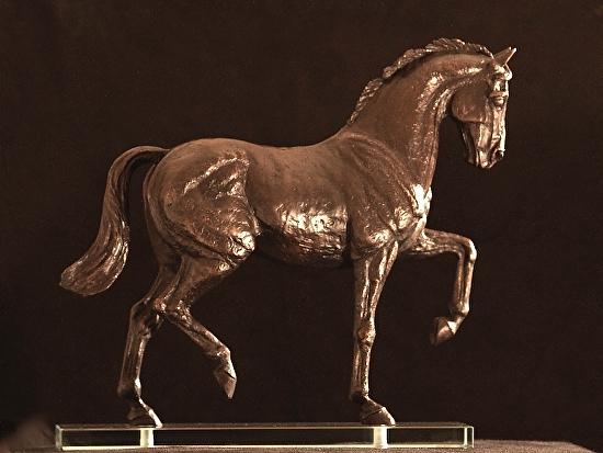 "Cassano by Ruth Green Bronze ~ 14"" x 15 1/2"""