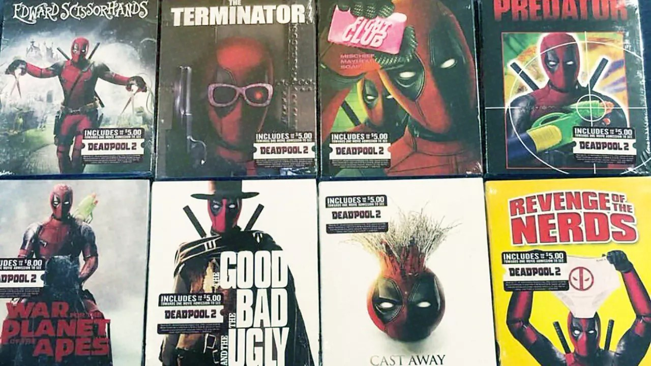 dvd covers of 16 movies sold at walmart