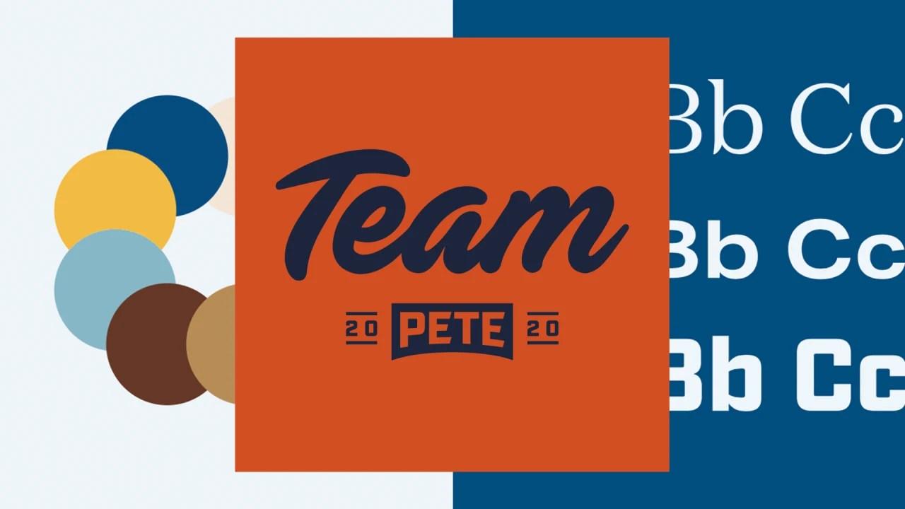 see pete buttigieg s logo and branding