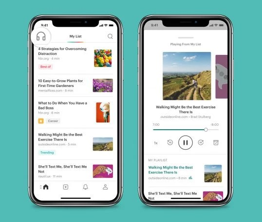 i-1-90249647-pocketand8217s-redesign-turns-articles-into-personal-podcasts-538x457 Pocket will now read the internet aloud to you Interior