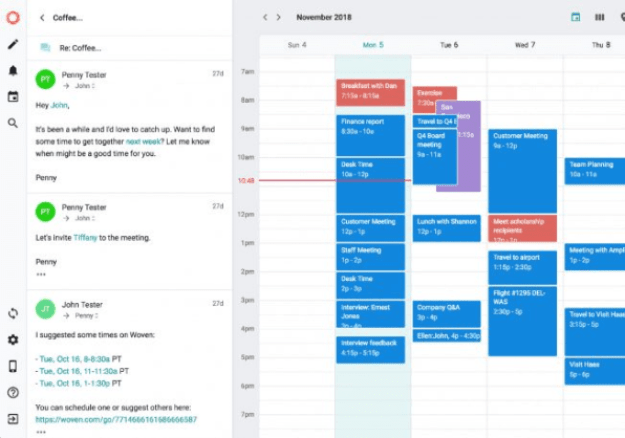 i-Desktop-emial-coffee-652x457 Woven is a calendar assistant you might actually use Technology