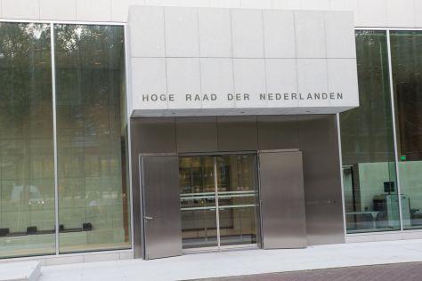 Rentederivaten. De Hoge Raad in Den Haag.