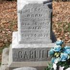 Headstone Inscription of John Snyder Carlile