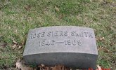 Headstone of Rose Siers Smith