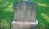Headstone of Bertha Bacchus