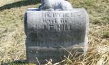 Headstone of Nettie (Icie) Lamberd Hill