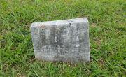 Grave marker of Hezekiah Ferguson Criss