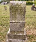 Headstone of Edward Harrington