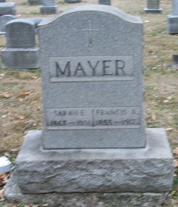 Francis Xavier Mayer (1855-1917) - Find A Grave Memorial