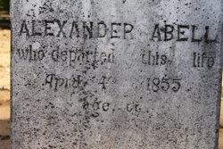 """Alexander """"Alex"""" Abell (Unknown-1855) - Find A Grave Memorial"""