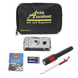 Auto Accident Kit and Organizer