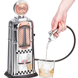 Vintage Nascar Gas Pump Liquor Dispenser