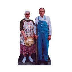 Personalized Life Size Standee - Two People