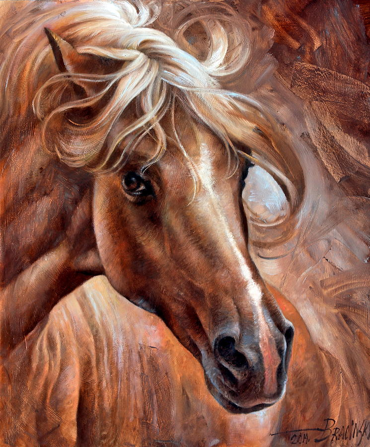 Horse Head 3 Painting