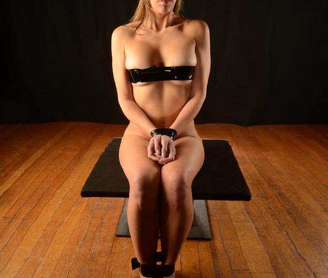 0098 Beautiful Nude Woman In Bondage Tape