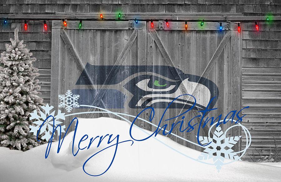 Seattle Seahawks Photograph By Joe Hamilton
