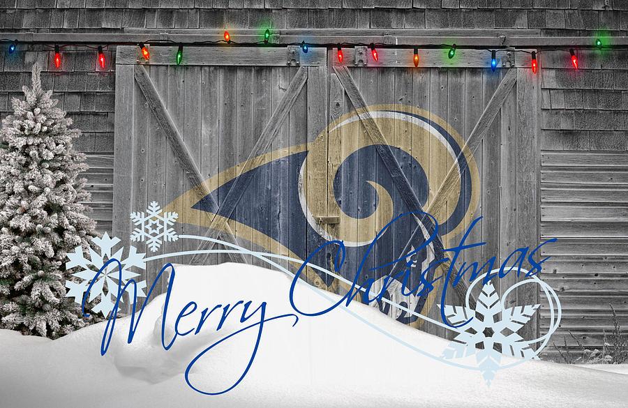 Merry Christmas Ramily Rams ON DEMAND