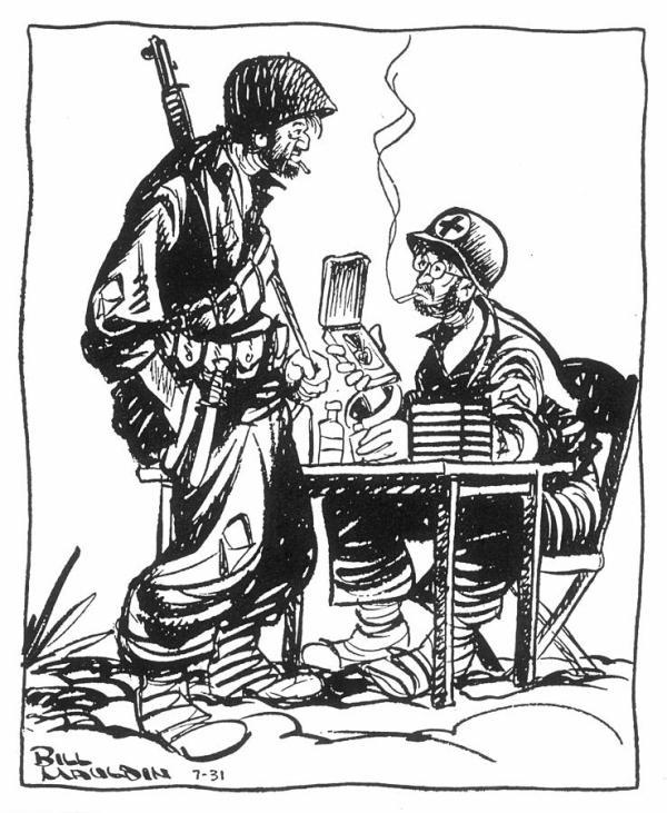 World War II: Cartoon Photograph by Granger