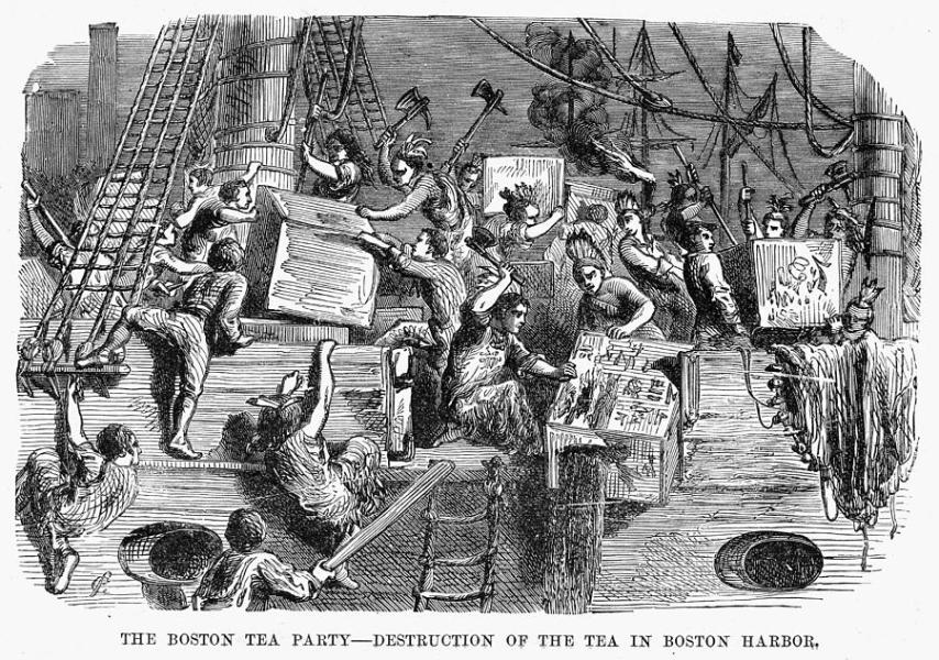 Revolutionary Facts About The Founding Of United States USA Boston Tea Party Best Pok Mon