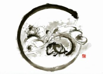 Image result for aikido painting