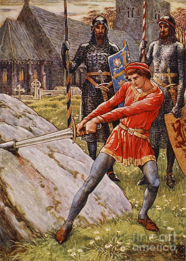 Rey Arturo y Excalibur