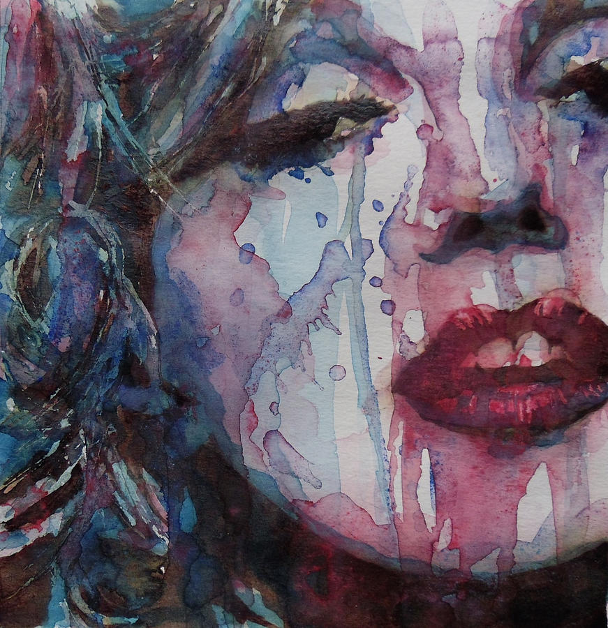 Beneath Your Beautiful Painting by Paul Lovering Marilyn Monroe Painting   Beneath Your Beautiful by Paul Lovering