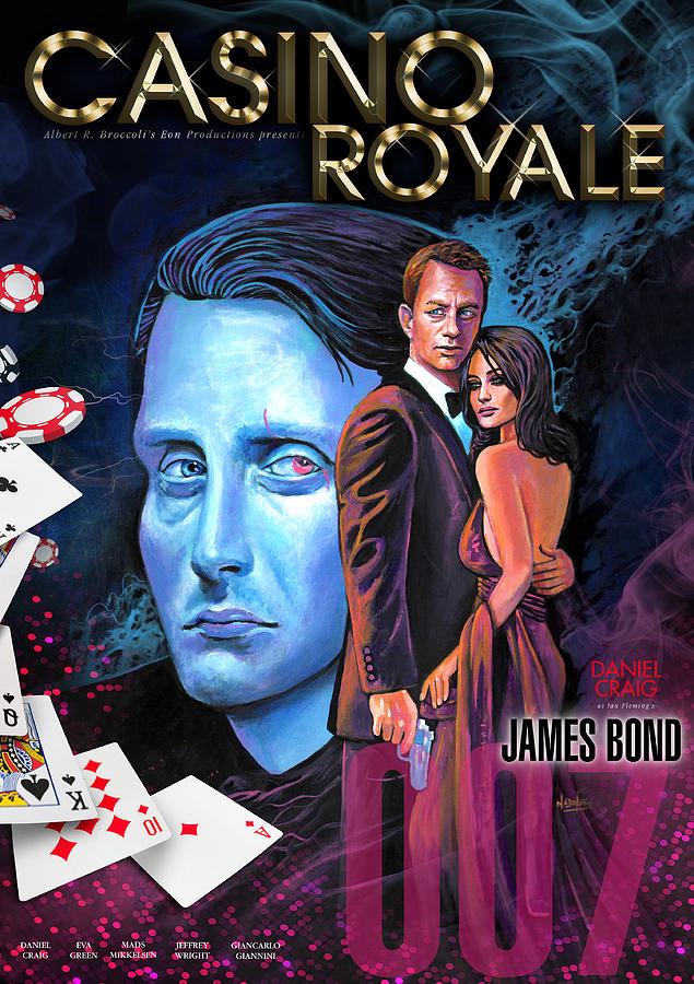 casino royale poster by larry nadolsky