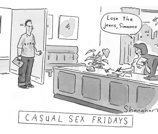 Casual Sex Fridays Drawing By Danny Shanahan