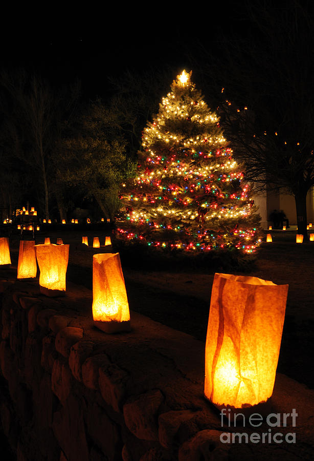 Christmas Eve In Tularosa New Mexico Photograph By Vivian
