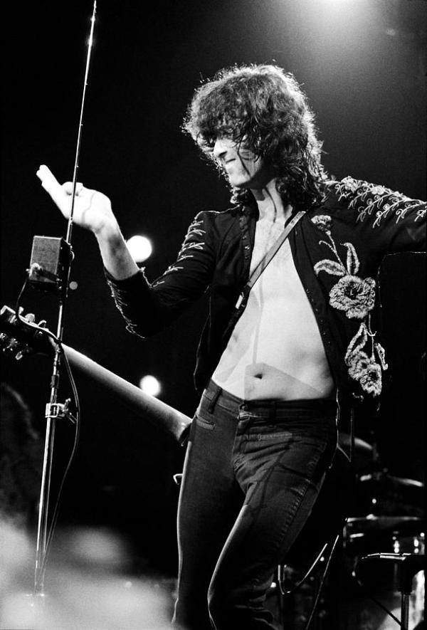 Jimmy Page 1973 Photograph by Chris Walter