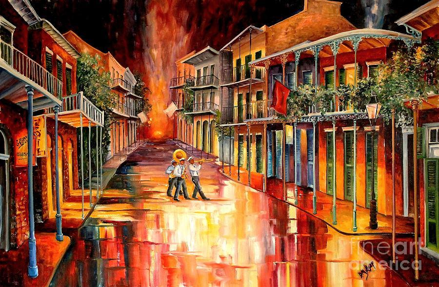 Royal Street Serenade Painting By Diane Millsap