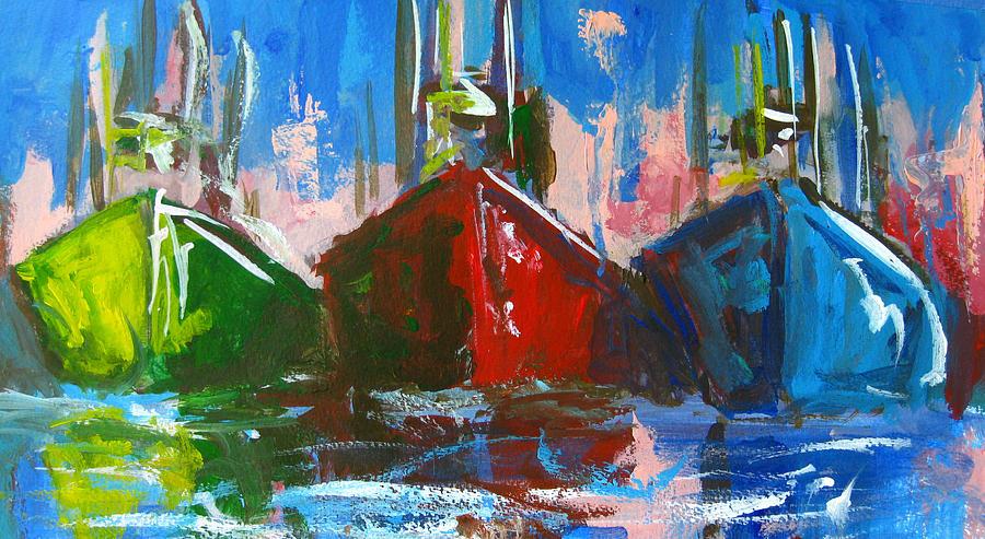 Sailboat Painting By Patricia Awapara