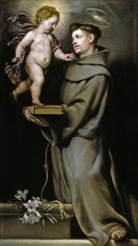 Claudio Coello Painting - Saint Anthony of Padua by Claudio Coello