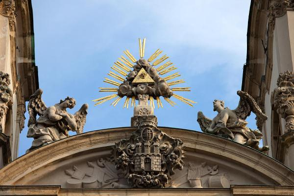 St Anne's Church In Budapest Architectural Details ...