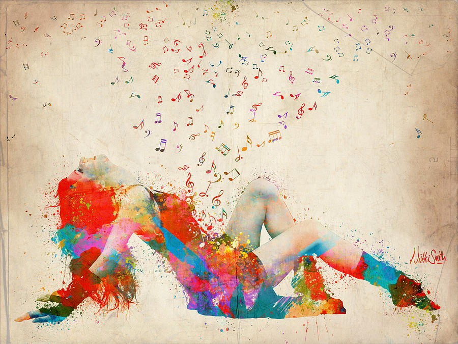 Sweet Jenny Bursting With Music by Nikki Marie Smith